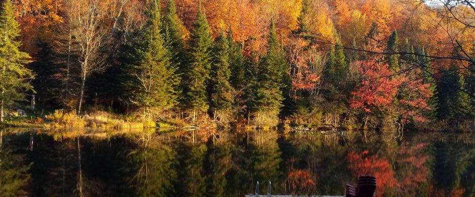 Chalet Sur le lac à Saint-Adolphe-d'Howard